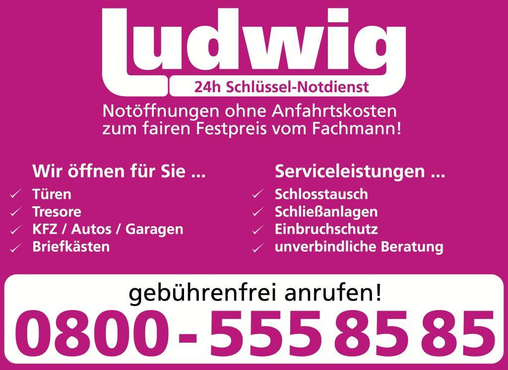 Service Schlüsseldienst Ludwig mit 24/7 Bereitschaft zum fairen festpreis!